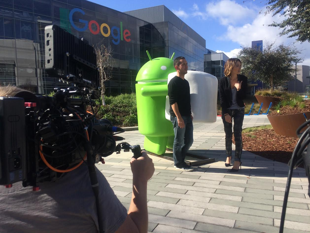 j San Francisco Crew Gets Technical At Google for Bloomberg West