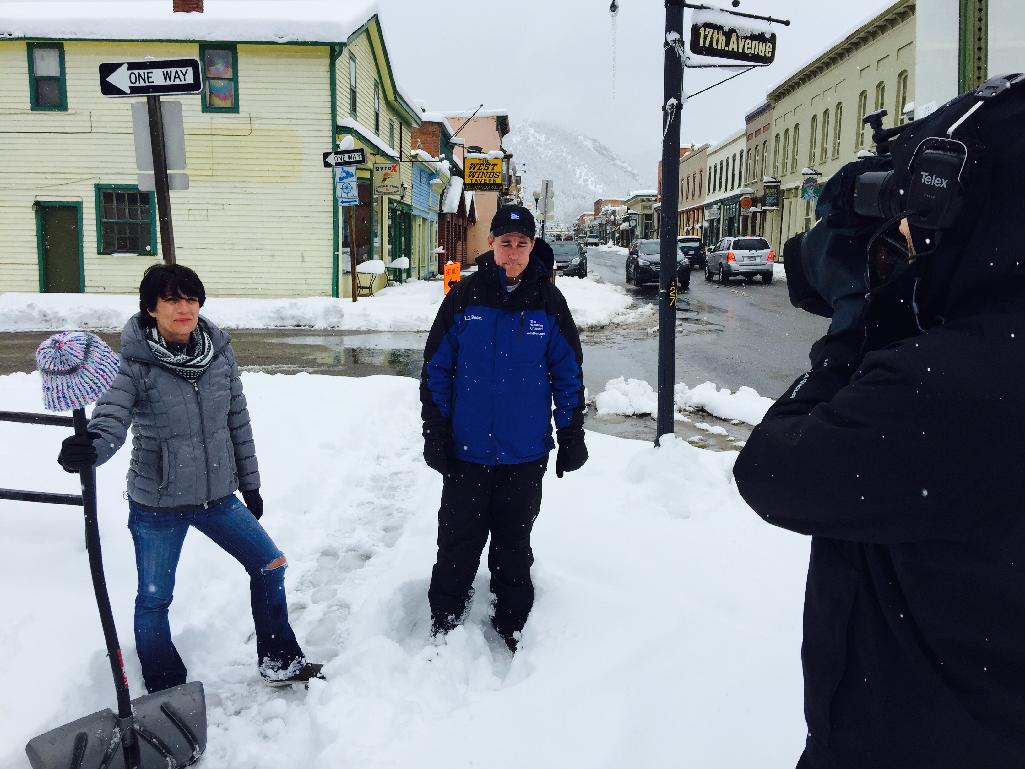 FullSizeRender Denver Crew Gets Snowed in With The Weather Channel
