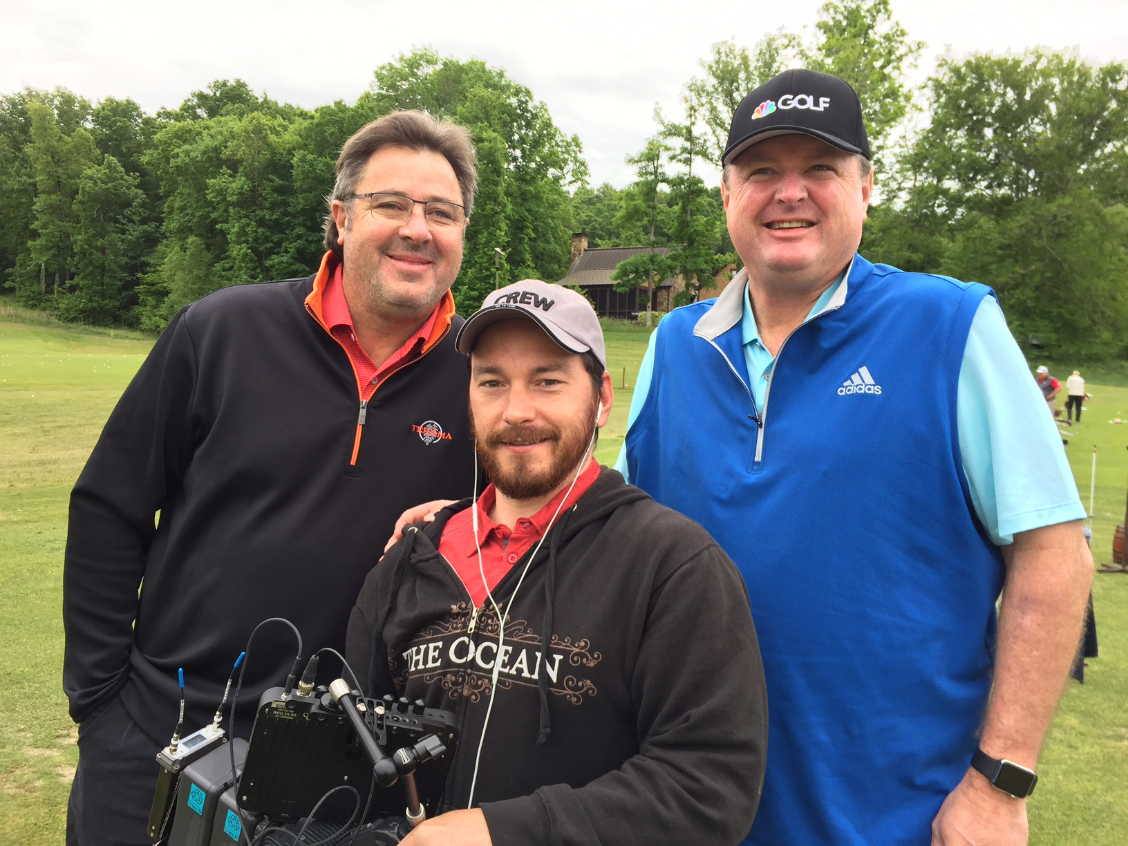 IMG 4704 Nashville Crews Swingin with Vince Gill for the Golf Channel