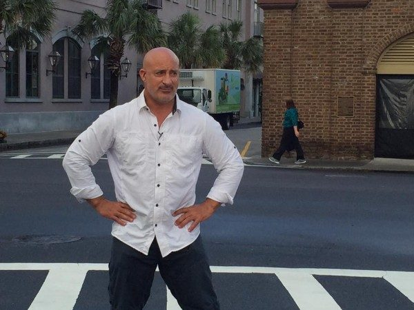 Jim Cantore 02 600x450 Miami Crew Chases Tropical Storm Colin with The Weather Channel