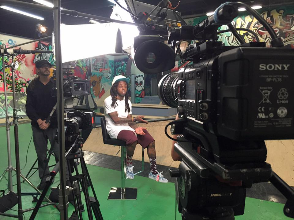 Lil Wayne 02 Miami Crew Skates with Lil Wayne for Bleacher Report