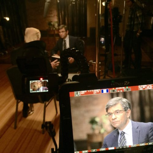 Denver DP Films One On One Trump Interview with ABC News