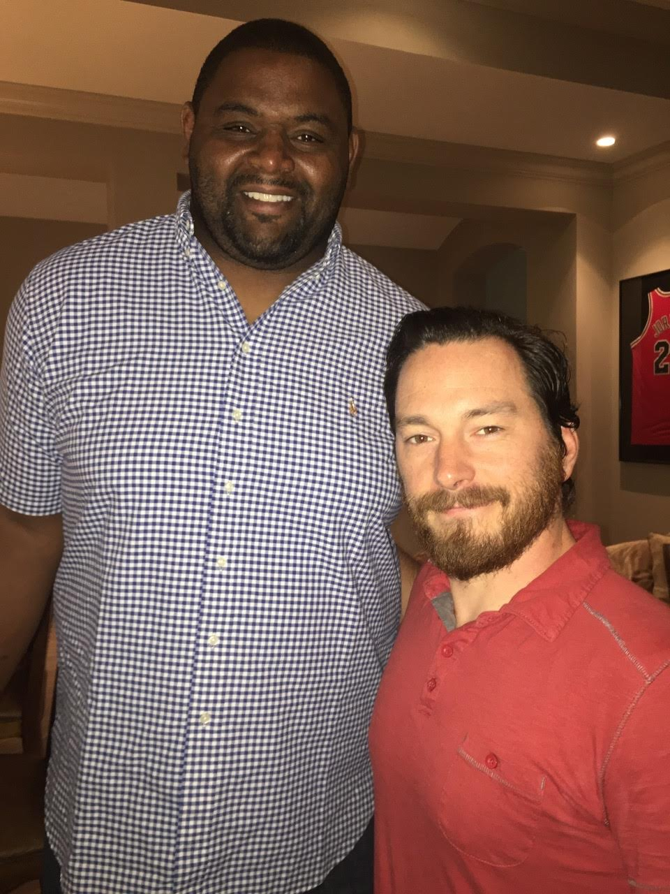 peter 4 Nashville Crew Films Orlando Pace for NFL Network