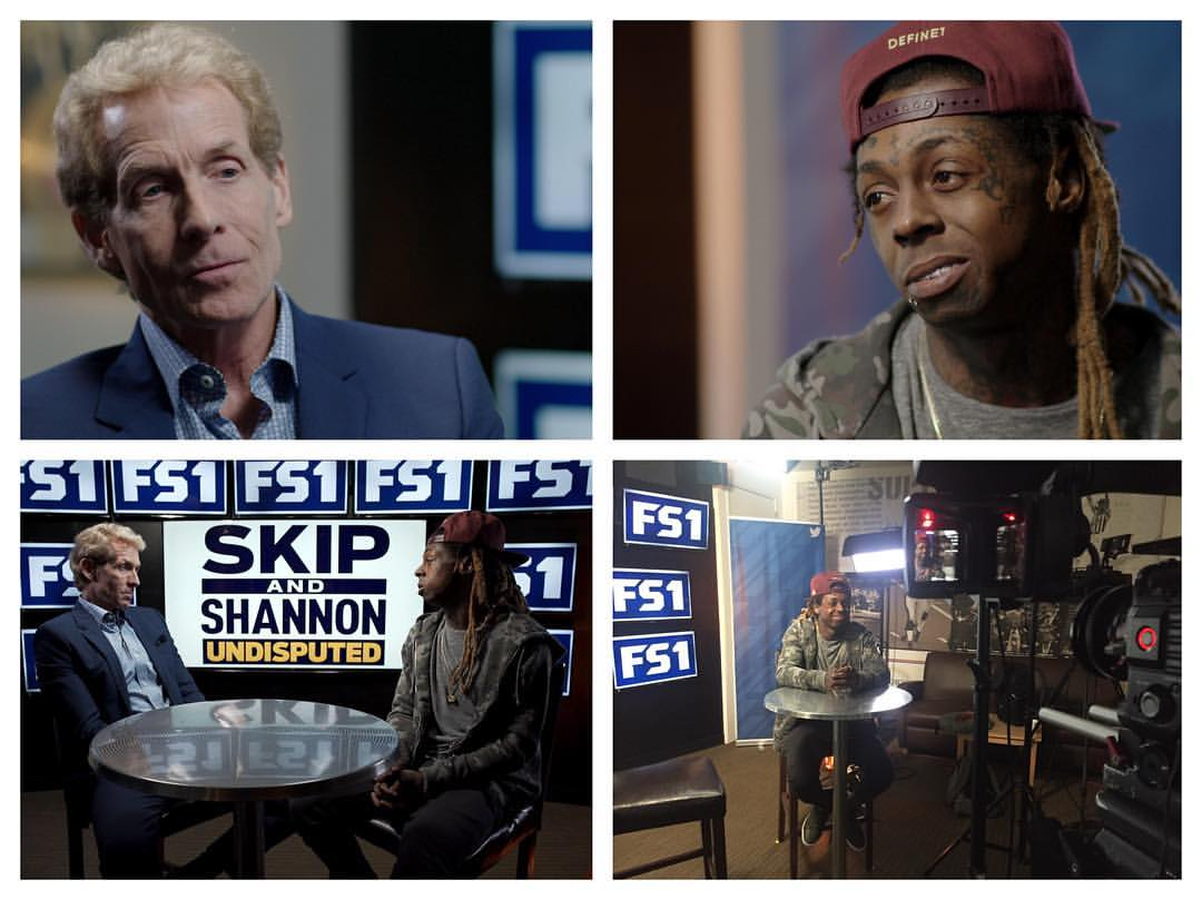 lil wayne 1 LA Crew with Lil Wayne and Skip Bayless on FS1