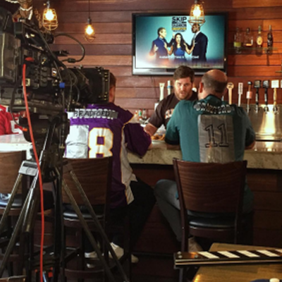 fox sports comedy 4 LA Crew Films Segment for Fox Sports NFL Pregame Show