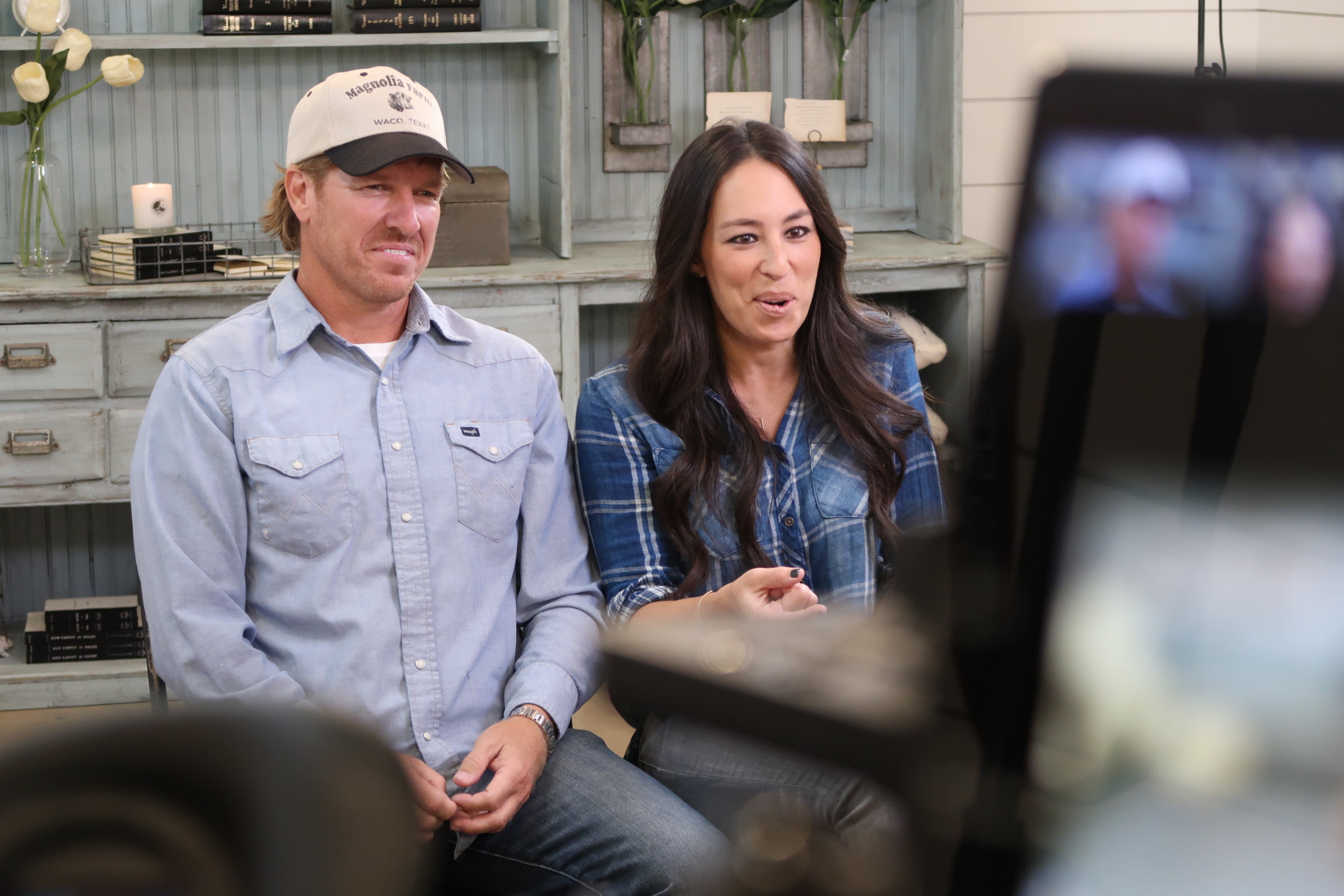 image32 Texas Cameraman Reunites with Chip and Joanna Gaines for The Today Show
