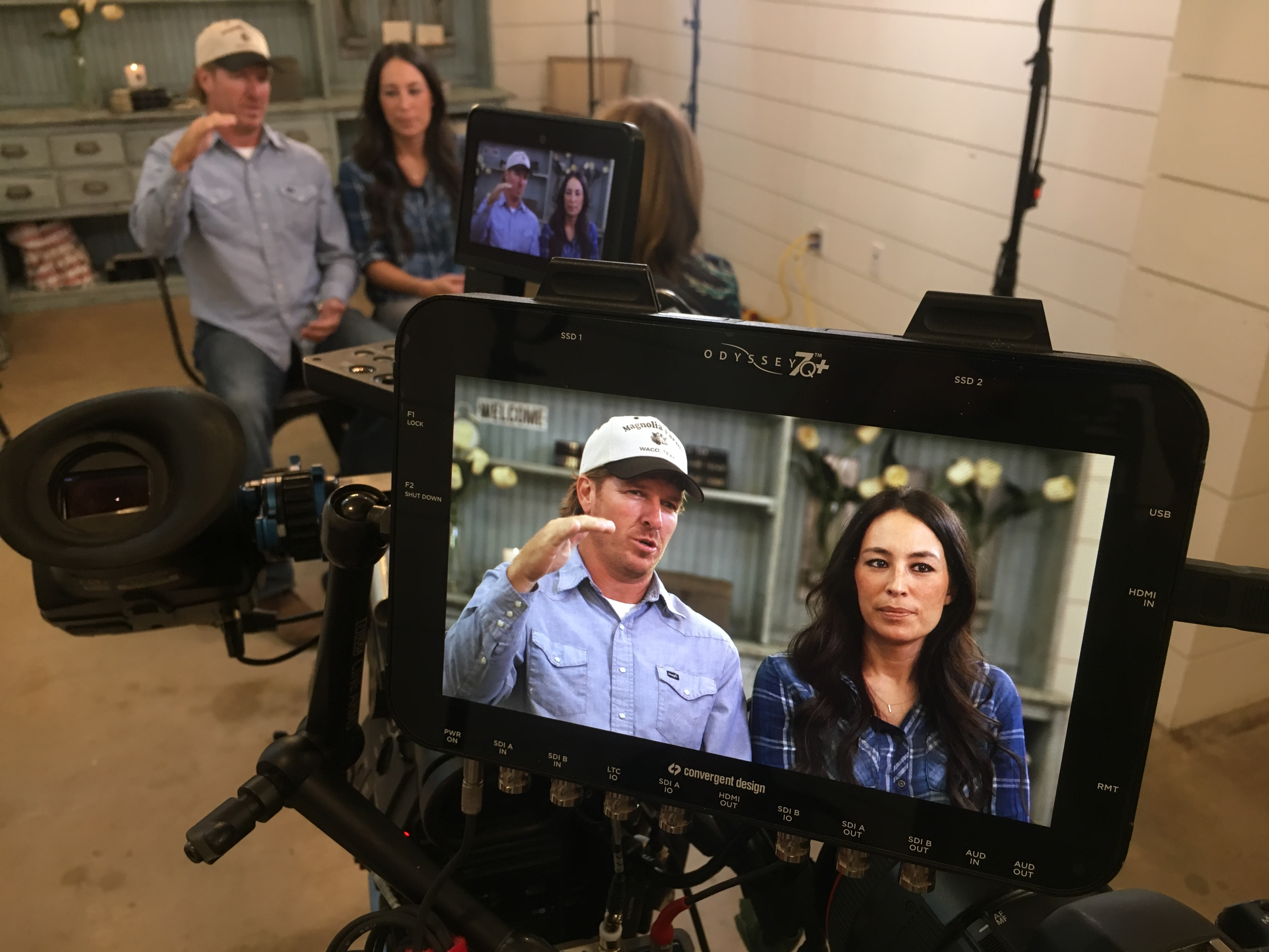image23 Texas Cameraman Reunites with Chip and Joanna Gaines for The Today Show