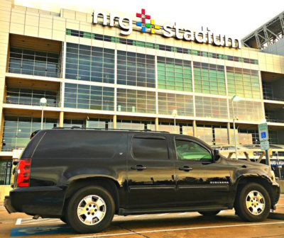 Texans NRG Stadium burb life edit 400x336 Super Bowl By The Dozen