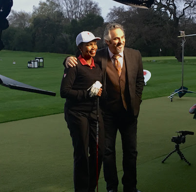 Feherty Condy Rice 1 San Francisco Cameraman Playing Golf with Feherty and Condoleezza Rice