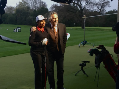 Feherty Condy Rice 400x300 San Francisco Cameraman Playing Golf with Feherty and Condoleezza Rice