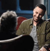 Stephen Curry on Feherty