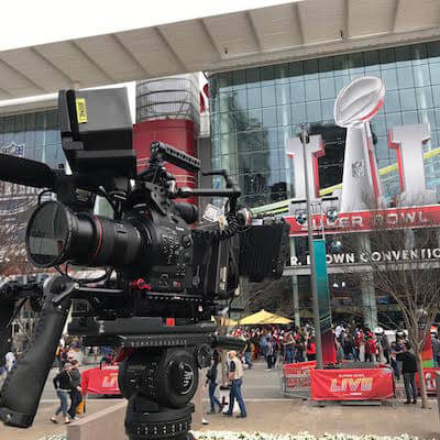 FS1 at Super Bowl LI