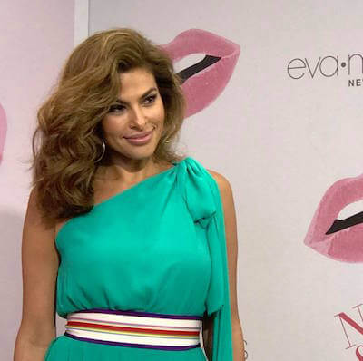 Eva Mendes 1 1 Miami Crew Works with E! News for Eva Mendes Return to the Red Carpet