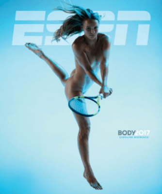 ESPN The Mag Caroline Wozniaki cover 334x400 Texas Director of Photography with Caroline Wozniacki for ESPN The Mag