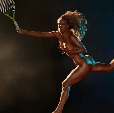 ESPN The Mag Caroline Wozniaki 1 400x395 Texas Director of Photography with Caroline Wozniacki for ESPN The Mag
