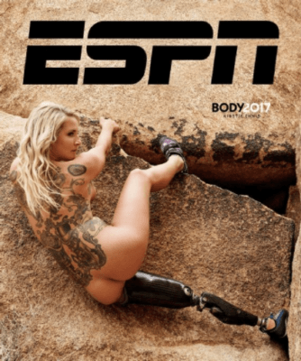 ESPN The Mag Kirstie Ennis cover 334x400 Los Angeles Video Crew with Kirstie Ennis for ESPN The Mag Body Issue