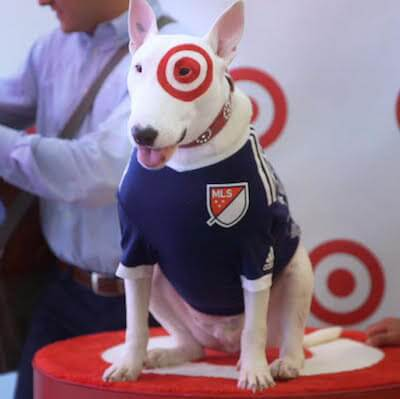 Target Dog with Major League Soccer