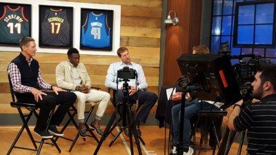 Turner German BBall 1 400x225 Atlanta Video Crew with Turner Sports and German NBA Legends