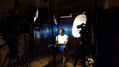 Bleacher Mario Chalmers 1 400x225 Columbia, South Carolina Camera Crew Buzzer Beater Shoot with Bleacher Report