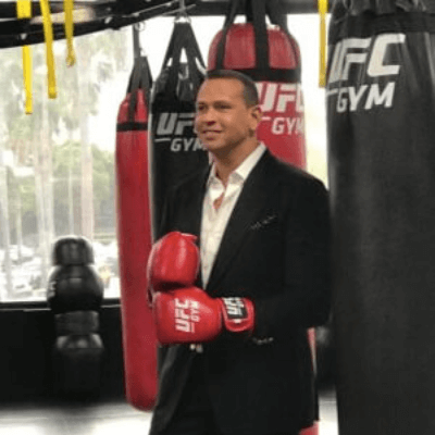 E! News A-Rod at the gym
