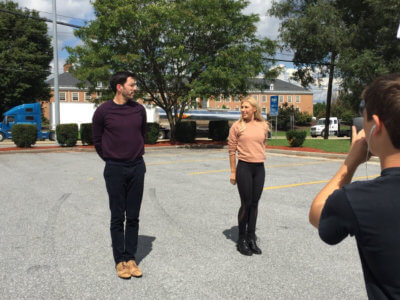 E News Property Bros 2 400x300 NYC Camera Crew Hits the Road with the Property Brothers