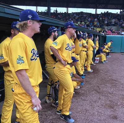 MSNBC Savannah Bananas 2 1 400x397 Atlanta Video Crew Goes Bananas for Baseball with MSNBC