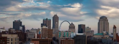 St. Louis cityscape 400x149 Video and Digital Producer's Guide to Shooting in St. Louis, MO