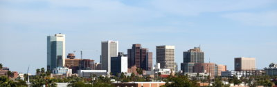 Phoenix cityscape 1 400x127 Video and Digital Producer's Guide to Shooting in Phoenix, AZ