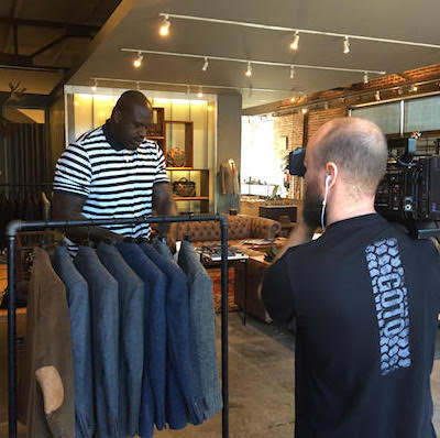 Turner Shaq Commercial 1 400x398 Atlanta Video Crew and Nashville Video Crew Celebrate Small Business Saturday with Shaquille O'Neal and Turner Sports