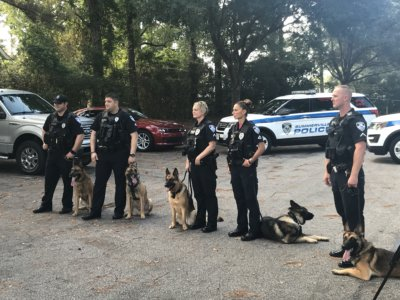 "IMG 6102 400x300 Charleston, South Carolina Video Camera Crew Goes on K 9 Patrol with A&E's ""Live PD"""