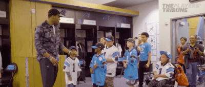 Screen Shot 2018 04 17 at 10.44.57 AM 400x170 Columbia Camera Crew Highlighting the Cam Newton Foundation with Players' Tribune