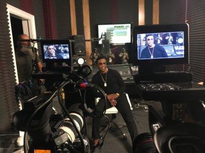 """Unsung Silk 1 1 400x300 Atlanta Video Camera Crew in the Studio with Silk for A. Smith & Co's """"Unsung"""""""