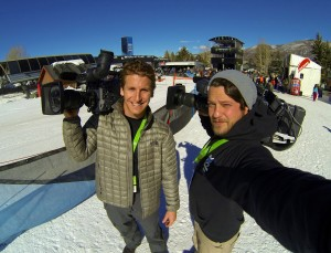 664288 10201453250880002 592005501 o 300x229 LA and Chicago hit the slopes in Aspen for X Games   and they were stoked.