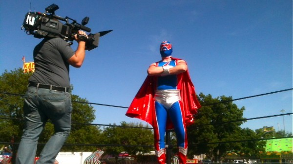 Dallas Crew Works with Mexican Wrestler, M 6