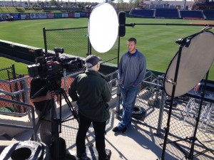 halladay interview 300x225 Atlanta Crew heads down to Florida for Spring Training and Fast Cars