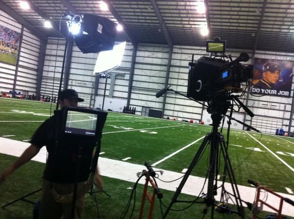 IMG 2260 600x448 Nashville Crew Shoots NFL PSA With Saints Wide Receiver, Lance Moore