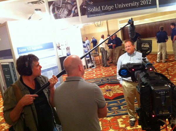 IMG 1790 600x448 Nashville Crew Shoots at Siemens Solid Edge Convention for Synaptic Digital