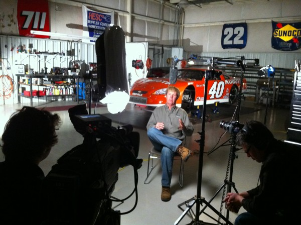 IMG 1140 600x448 Nashville Crew Shoots for SPEED with NASCAR Legends