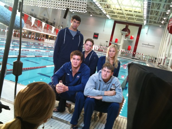 IMG 1668 600x450 Nashville Crew Goes Behind the Scenes with the US Swim Team
