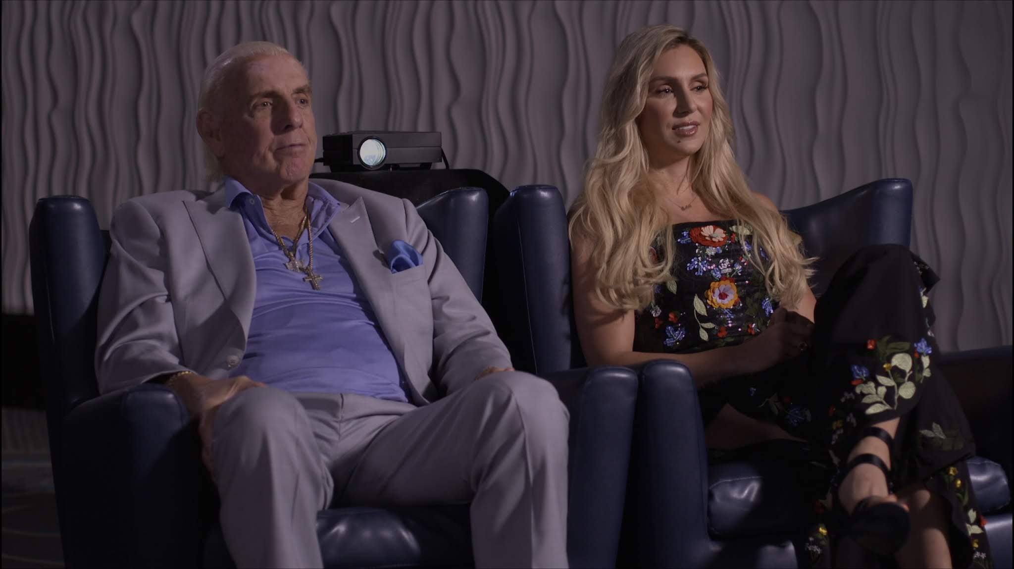 RF2 Atlanta Crew Captures Interview with Ric and Charlotte Flair