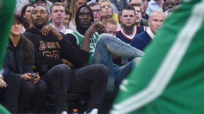 IMG 6998 400x225 Go To Team | and Area 21   Boston Celtics vs. LA Lakers