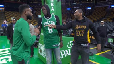 IMG 6999 400x225 Go To Team | and Area 21   Boston Celtics vs. LA Lakers