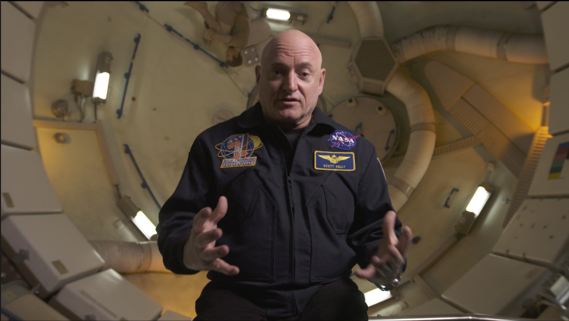 Scott Kelly 1 Go To Team Texas Crew | NBA All Star and Scott Kelly