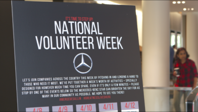 Screen Shot 2019 04 12 at 4.06.54 PM 400x226 Go To Team | Mercedes Benz National Volunteer Week