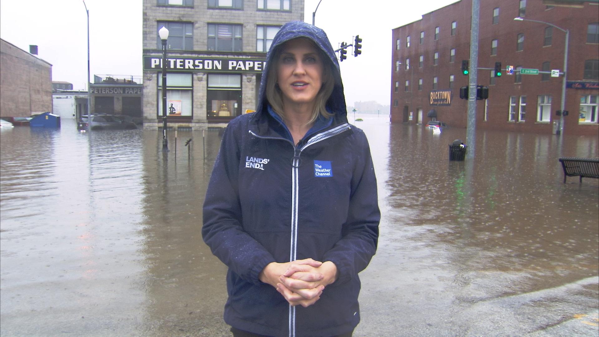 Davenport Flooding 1.2.1 Go To Team St. Louis Crew | Davenport Levee Breaks