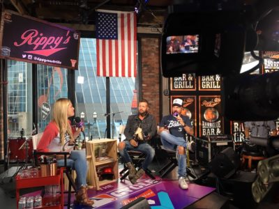 Go To Team Nashville Crew | MLB The Cycle   LOCASH Interview