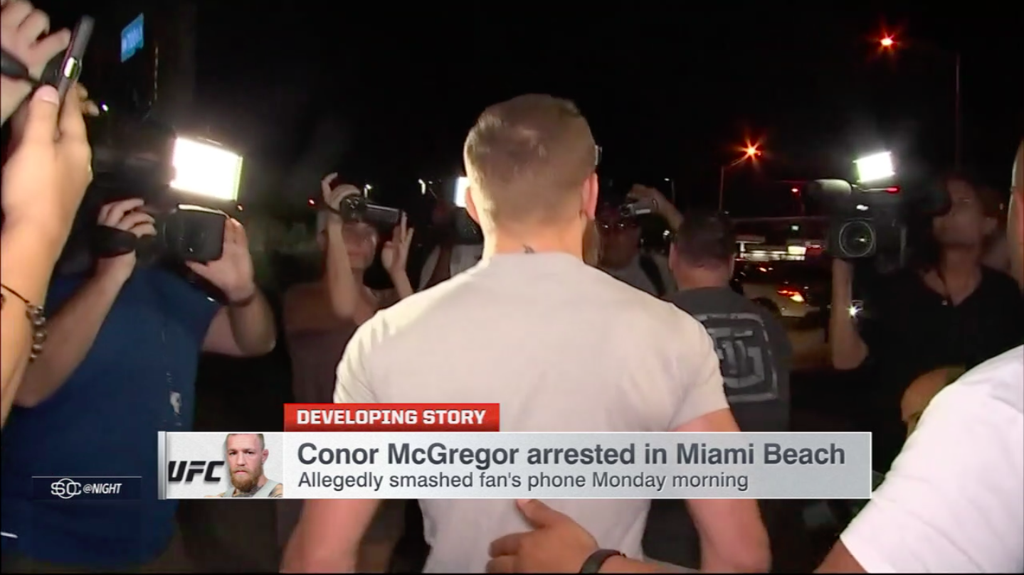 Ryan Brower | Conor McGregor Arrest