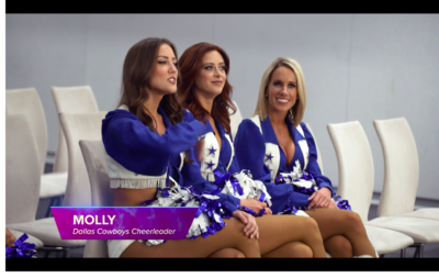 Screen Shot 2019 08 02 at 9.42.11 AM 400x253 Go To Team Crews | Viacom   BTS Dallas Cowboy Cheerleaders