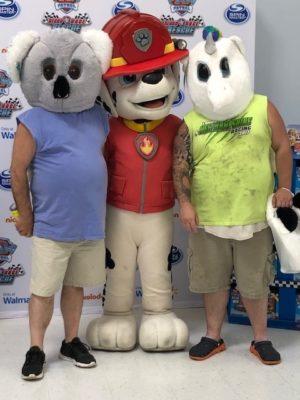 image14 300x400 Go To Team Charlotte Crew   Paw Patrol NASCAR Walmart