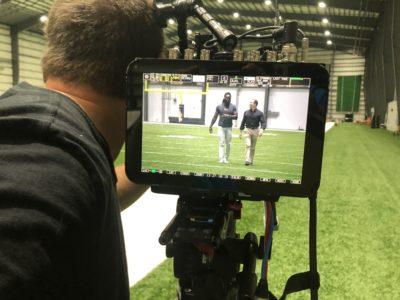 Go To Team Waco Crew | Raymond Arroyo with Saints' Demario Davis